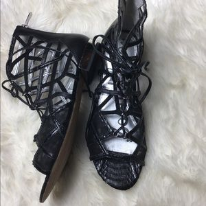 Sam Edelman Shoes - Sam Edelman DENVER Black gladiator sandal size 8.5